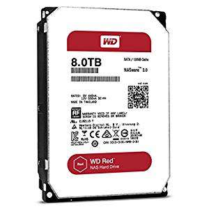 WD WD80EFZX 3.5 inch Network Attached Storage 24x7 Hard Disk Drive - Red £236.99 @ Amazon Prime  Back-order