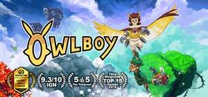 Owlboy 40% off for £11.39 @ Steam