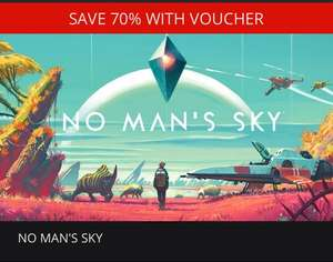 No Mans Sky (Steam Key) £12 with code @ GMG