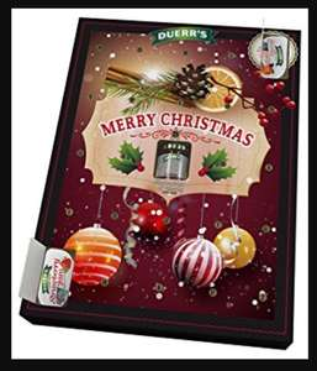 Duerr's jam advent calendar £2.99 The Range instore