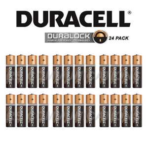 Box of 24X Duracell AA Batteries - £8.99 @ eBay (seller rscommunications)