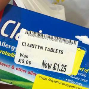 Clarityn tablets hay fever/ allergy (14 tabs)  £1.25 @ morrisons instore - Colchester