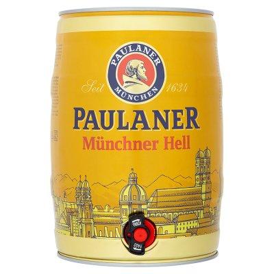 Paulaner Münchner Hell Keg 5litre at Waitrose £9.00 free delivery over £60