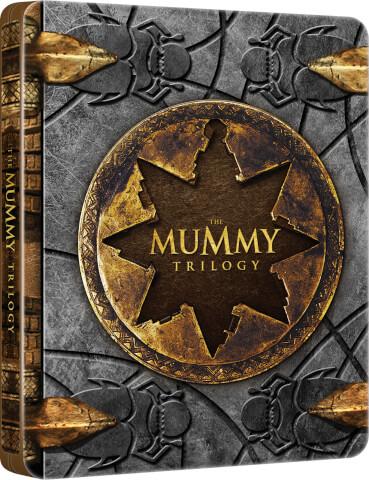 Mummy trilogy blu ray steelbook - £19.99 @ Zavvi