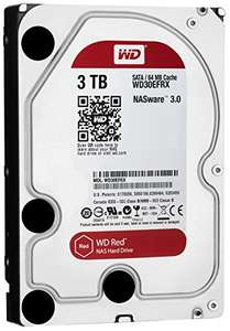 WD Red 3TB NAS Desktop Drive - £92.99 @ Amazon - Prime Exclusive Deal