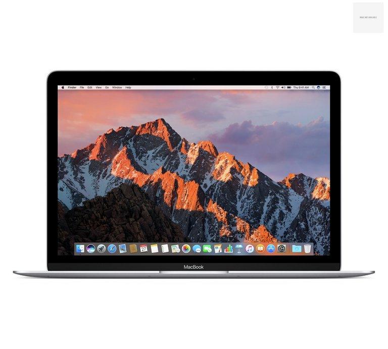 Apple MacBook 2017 MNYH2 12 Inch M3 8GB 256GB Silver for £1099 @ Argos