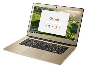 Gold Acer Chromebook 14 FHD 4GB RAM - £229.99 @ Amazon