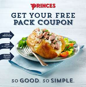 Free Pack of Prince's Tuna Fillers {Printer Needed}