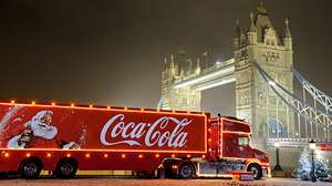 Free Can of Coke and see the Coca-Cola truck this Christmas