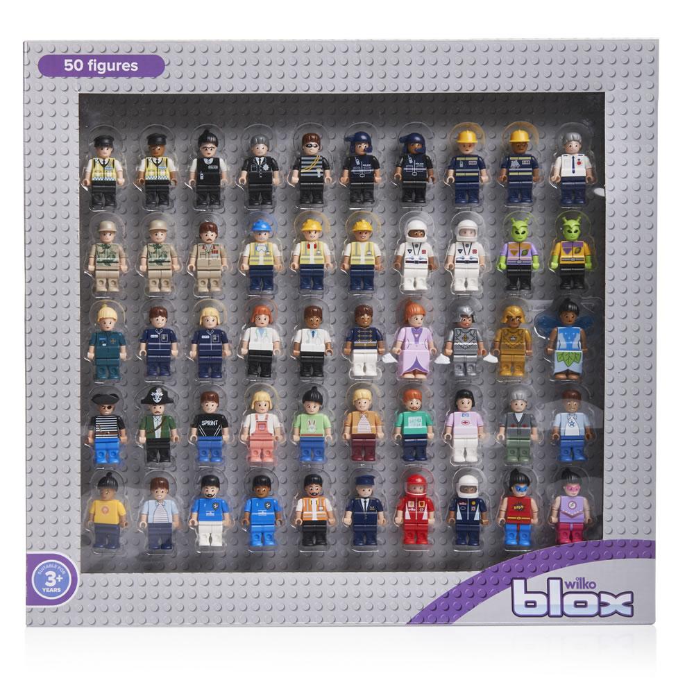 Wilko Blox 50 assorted figures Reduced to £10 from £15 @ Wilko C+C