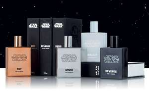 Star Wars Scents (Droid, Revenge, Galaxy, Light, Dark or Rey) 50ml EDP @ The Range £5.99 + £3.95 Delivery