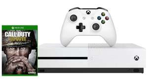 Xbox One S 500GB + Call Of Duty WWII + either Assassin's Creed Origins or Shadow Of War £201.09 @ Microsoft Germany