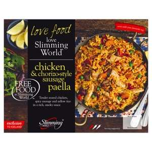 Free Slimming World meal from Iceland, worth £3 on deliveries only.