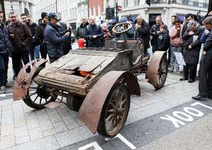 The annual Regent Street Motor Show on Saturday 4th November,