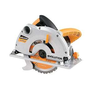 Amazon- Evolution RAGE1-B Multi-Purpose Circular Saw, 185 mm (230V) - £50