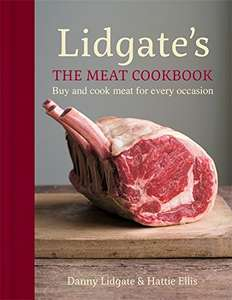 Lidgates Cookbook (Hardcover) @ Amazon - £7 Prime / £9.99 Non Prime (Kindle is £2.99)