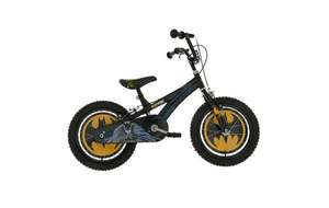 "Edit 9/11 now £67.50 w/code - Batman Kids Bike - 16"" was £125 now £75 @ Halfords (seems to be £100+ elsewhere)"