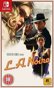 L.A. Noire (Nintendo Switch) £34 with prime or £36 without @ Amazon