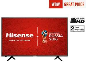 Hisense H43N5300 43 Inch 4K Ultra HD Smart TV at Argos - £314.10 and free £10 voucher