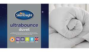Silentnight Ultrabounce 10.5 Tog Duvets now half price - Single £12 / Double £14 & King Size £16 C+C @ Asda George