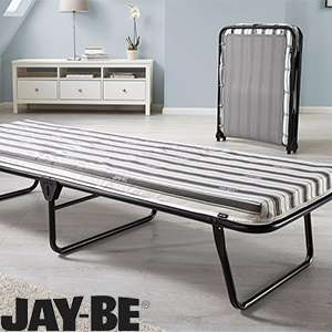Jay-Be J-Tex Folding Guest Bed with mattress £39.99 - RRP £79.99 @ Home bargains C+C