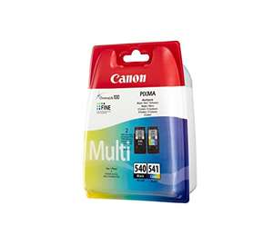 Canon PG-540/CL-541 Ink Cartridge - Multi-Coloured £24.99 Delivered @ Amazon - Prime Exclusive