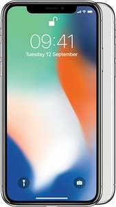 iPhone X, Free upfront, £64 per month, Vodafone - MobilePhones Direct