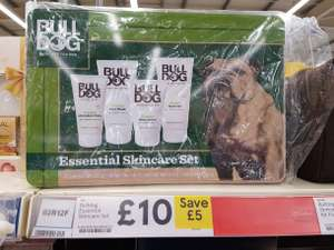 Bulldog Essential Skincare Kit in Tesco, was £15 now £10!!