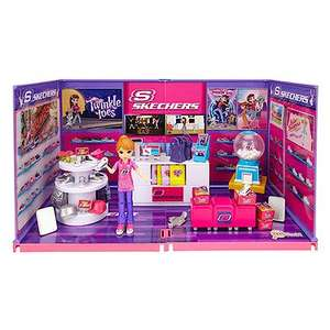 MiWorld Deluxe Build Your Own Skechers Store Playset £7.49 @ The entertainer Free c&c with £10 spend
