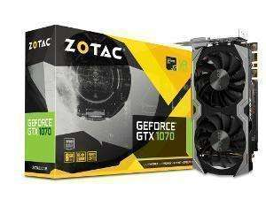 ZOTAC GeForce GTX 1070 Mini 8GB GDDR5 Graphics Card £365.80 - Novatech