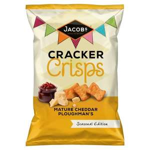 Jacob's Cracker Crisps Mature Cheddar 150g scanning at 20p in Sainsbury's (instore)