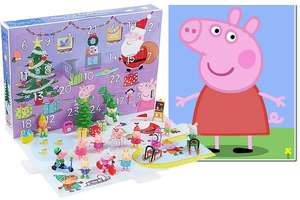 Peppa Pig Toys Advent Calendar  £25 / Tsum Tsum Exclusive Advent Calendar now £30 @ George Asda (Online & Instore)