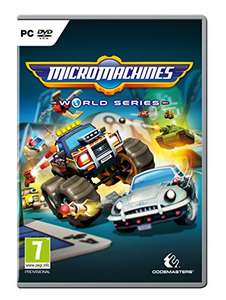 [PC-DVD] Micro Machines: World Series - £5.80 (+£1.99 Non Prime) - Amazon