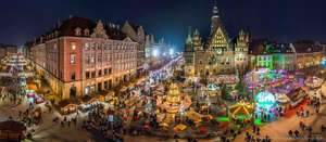 Wroclaw (Poland) Christmas Markets - From £59pp for 2-4 Nights from Gogroopie