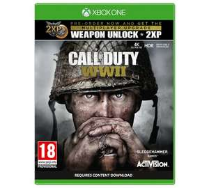 cod ww2 £47.99 Argos - possible £10 cashback via tcb