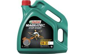 Castrol Magnatec 5w30 Fully Synthetic 4L - £20 [TESCO Instore - Dudley]