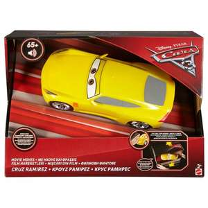Disney Pixar Cars 3 Movie Moves Cruz Ramirez Vehicle £14.99 @ Smyths