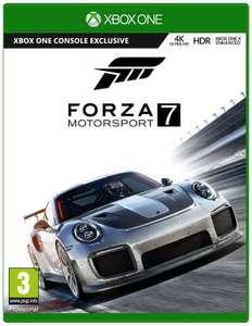 [Xbox One] Foza Motorsport 7 - £30.85 - Base