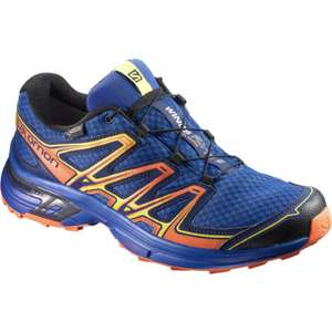 Salomon Wings Flyte 2 GTX Mens trail trainer in Blue £55 from Wiggle - foc delivery