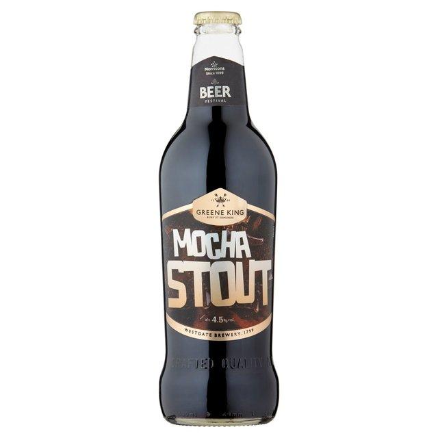 New - Greene King Mocha Stout (ABV 4.5%) 500ml £1 @ Morrisons.