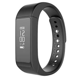 Fitness Activity Tracker Wireless Smartwatch Bluetooth Pedometer with Sleep Monitor Step Tracker Calorie Counter (All Black) £12.99 (Prime), £16.94 (Non-Prime) With Code - Sold by MOXKINO, Fulfilled by Amazon