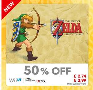 Zelda link to the past virtual console wii u discount 40 gold points @ Nintendo