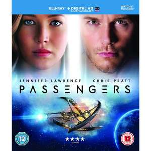 2 for £10 Blu Ray including Passengers and T2 Trainspotting @Asda Online /Instore