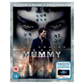 The Mummy 2017 Bluray 2D & 3D Versions £10 @ Asda