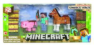 Minecraft Overworld Saddle Pack Rare £9.99 Prime Exclusive @ amazon.co.uk