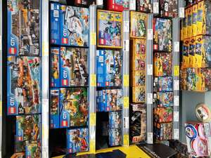 ASDA Rollback on Lego. Not sale - £4 off £20 etc