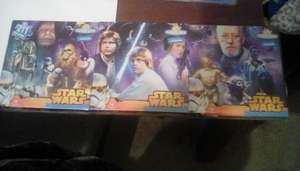 Star Wars Triple Pack Puzzle. £1 in Poundland