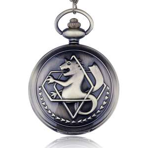 Edward Elric Fullmetal Alchemist Quartz Pocket / Fob Watch £2.27 to £2.49 delivered @ 365 Watch Factor AliExpress