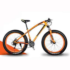 Mountain Bike Snow Bike Cycling 21 Speed 26 Inch/700CC 40 mm SHIMANO 30 Oil Disc Brake Springer Fork Hard-tail Frame Aluminium Alloy £207.92 @ LITB
