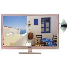 Sharp 24in LC-24DHF4011KR Rose Gold HD Ready LED TV with Freeview HD and DVD Player £119 @ Tesco